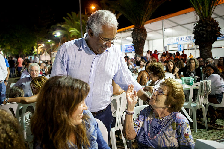 António Costa visitou Festival do Marisco