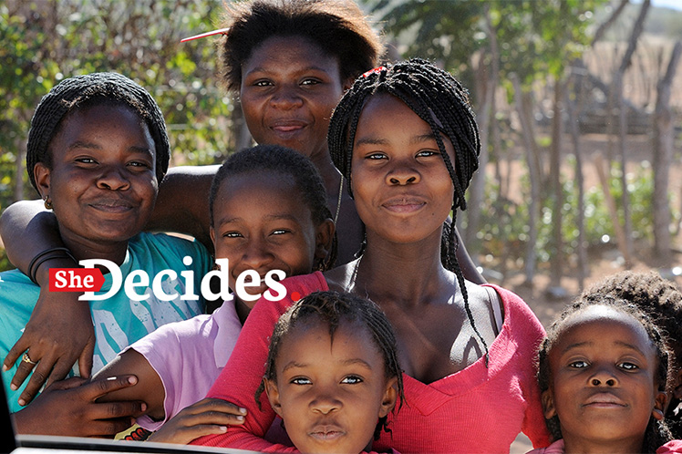"Portugal adere a iniciativa global ""She decides"""
